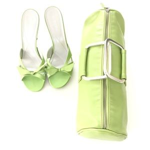 Bag and shoes are Shoes nice combo. Great price.